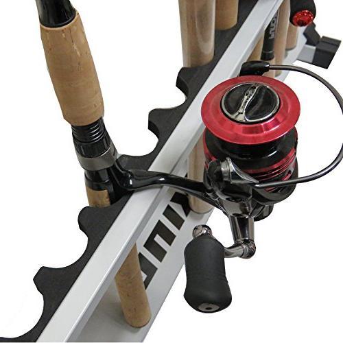 Portable Rod Holder Rack