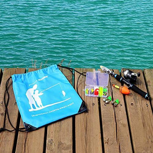 YONGZHI Fishing Rod Combo Full Kits Freshwater Fishing