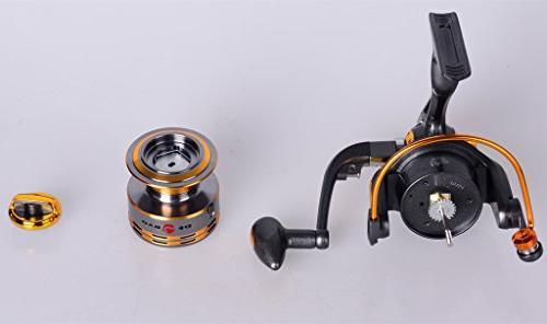 Lifelj Fishing Reel Spinning Fishing Reel Right Ratio for Fishing
