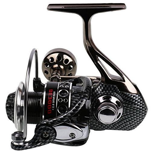 fishing reel double bearing light