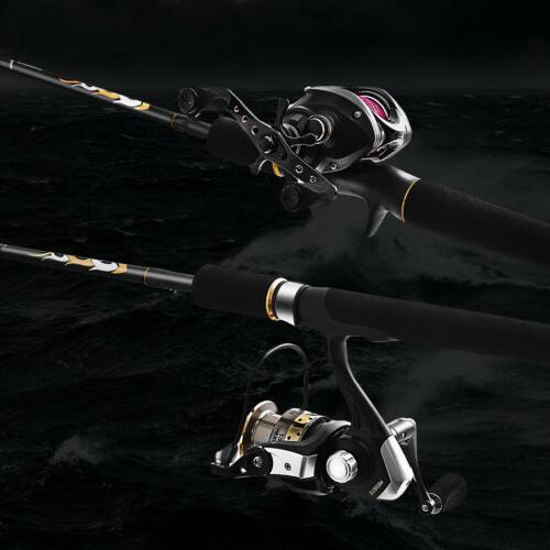 FISHINGSIR Bass Rods Carbon Fiber New