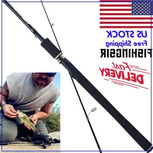 fishing rod carbon fiber casting spinning rod