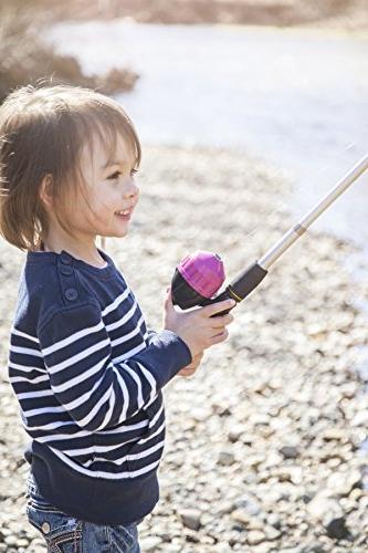 Kids Fishing for Girls | Set | Pink Fishing Rod, Reel, Travel | Pole