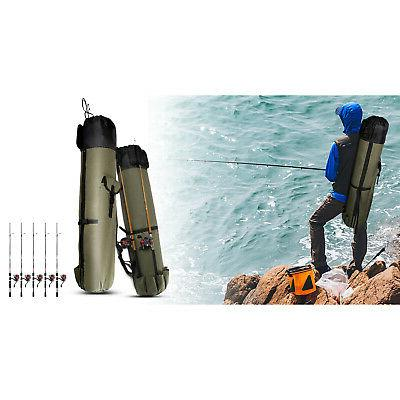 Fishing Rod Pole Tackle Accessories Bag