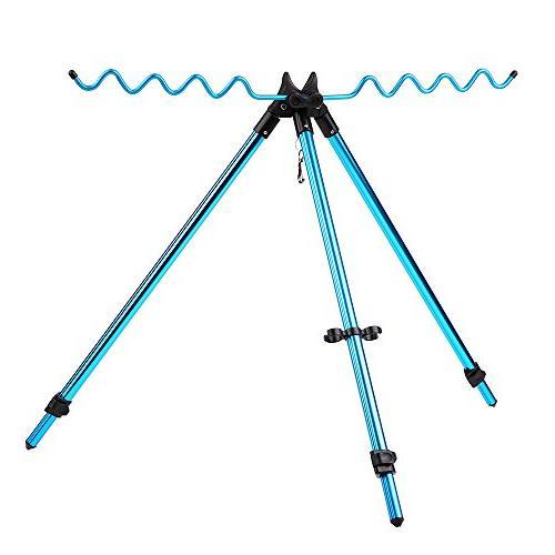 fishing rod tripod stand portable