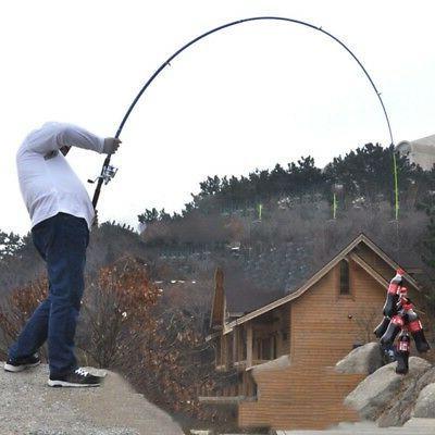 Fishing Rod Fiber Spinning Pole