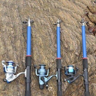 Fishing Rod Ultralight Carbon Fiber Portable Spinning Pole