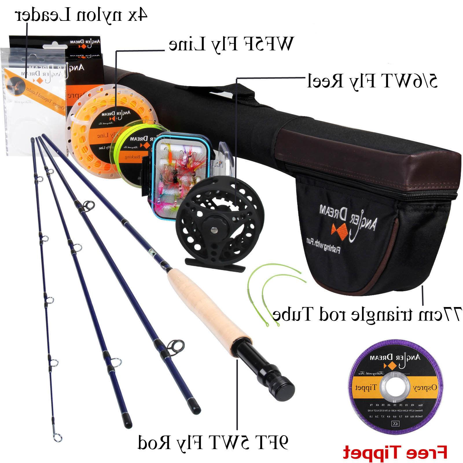 Fly Fishing 9FT Fly Fishing Line Reel Line Backing