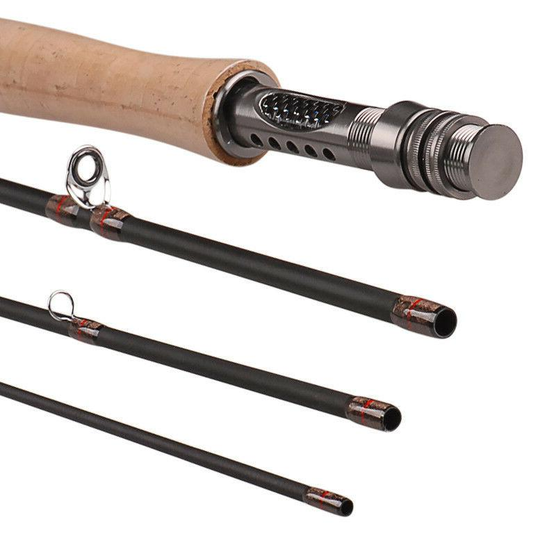 Fly rod Fly Fishing Rod Graphite Medium Fast Fly Rod 8'ft 9'