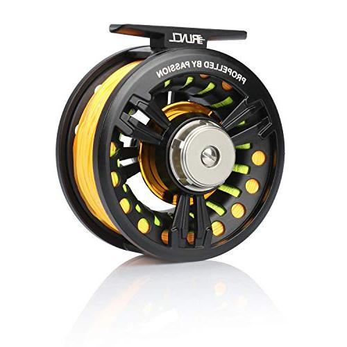 RUNCL Fishing & Reel Combo I, Fly Fuji A Wood Disc-Drag Handmade Fishing