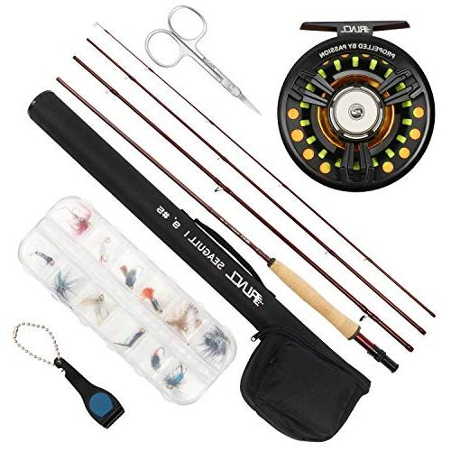 fly fishing rod reel combo