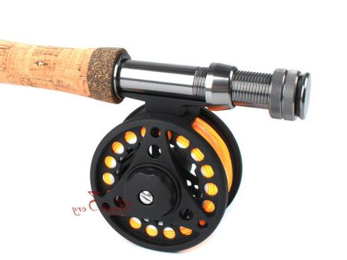 Fly Reel Combo 5/6WT Compelete Pack Files Case