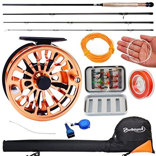 fly fishing rod reel combos