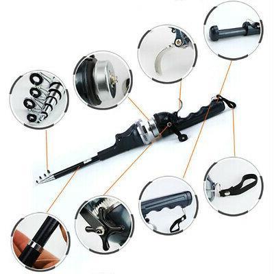Telescopic Fishing Rod and Set Combo Tool