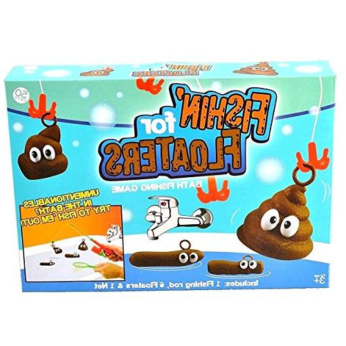 funny bath fishing game educational