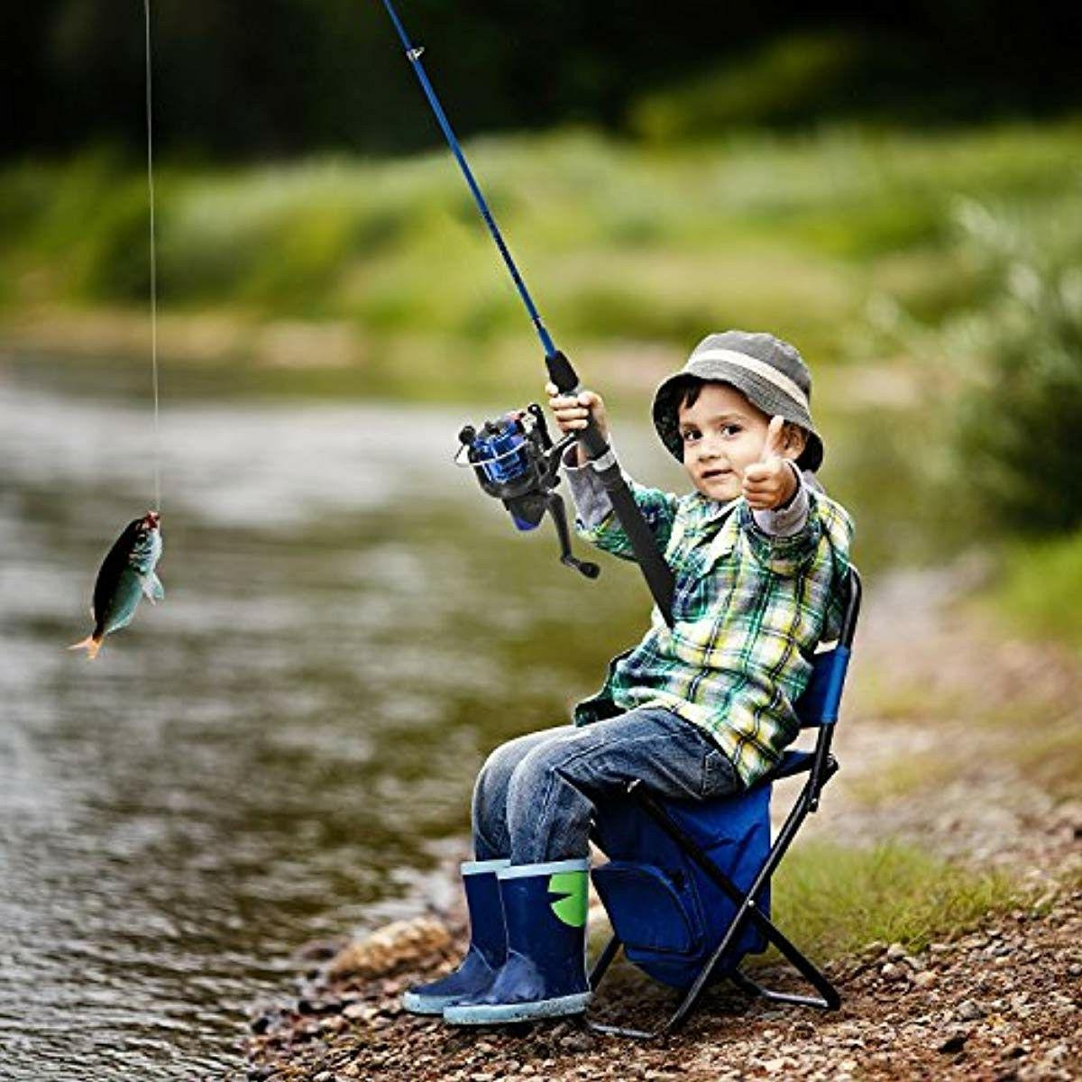 Kids Fishing and Portable Telescopic and