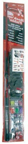 Eagle Claw 643634 5 ft. Medium Brave Eagle Packaged Spin Com