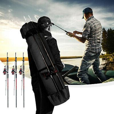Fishing Pole Reel Tackle Accessories Bag Carry