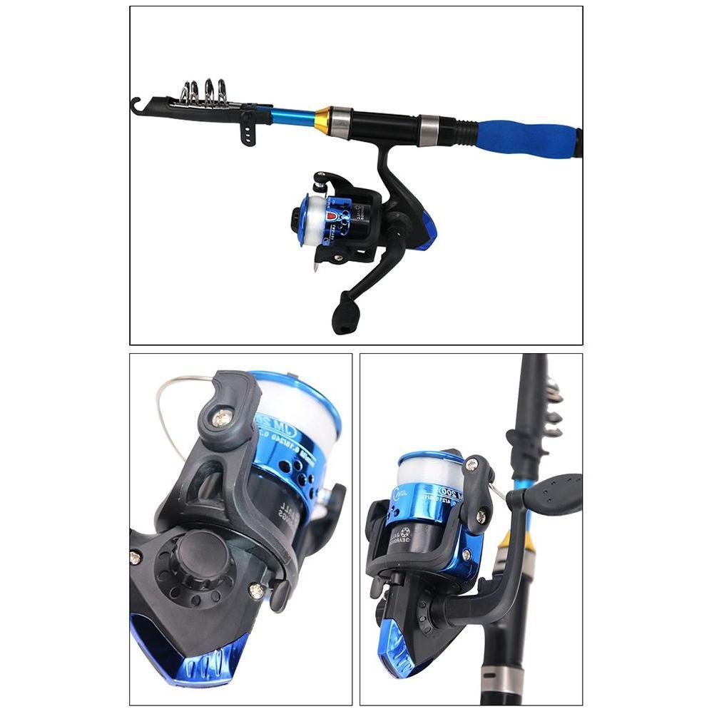 Light Telescopic <font><b>Fishing</b></font> <font><b>Rod</b></font> And Reel Combos <font><b>Fishing</b></font> Pole For <font><b>Youth</b></font> <font><b>Fishing</b></font>