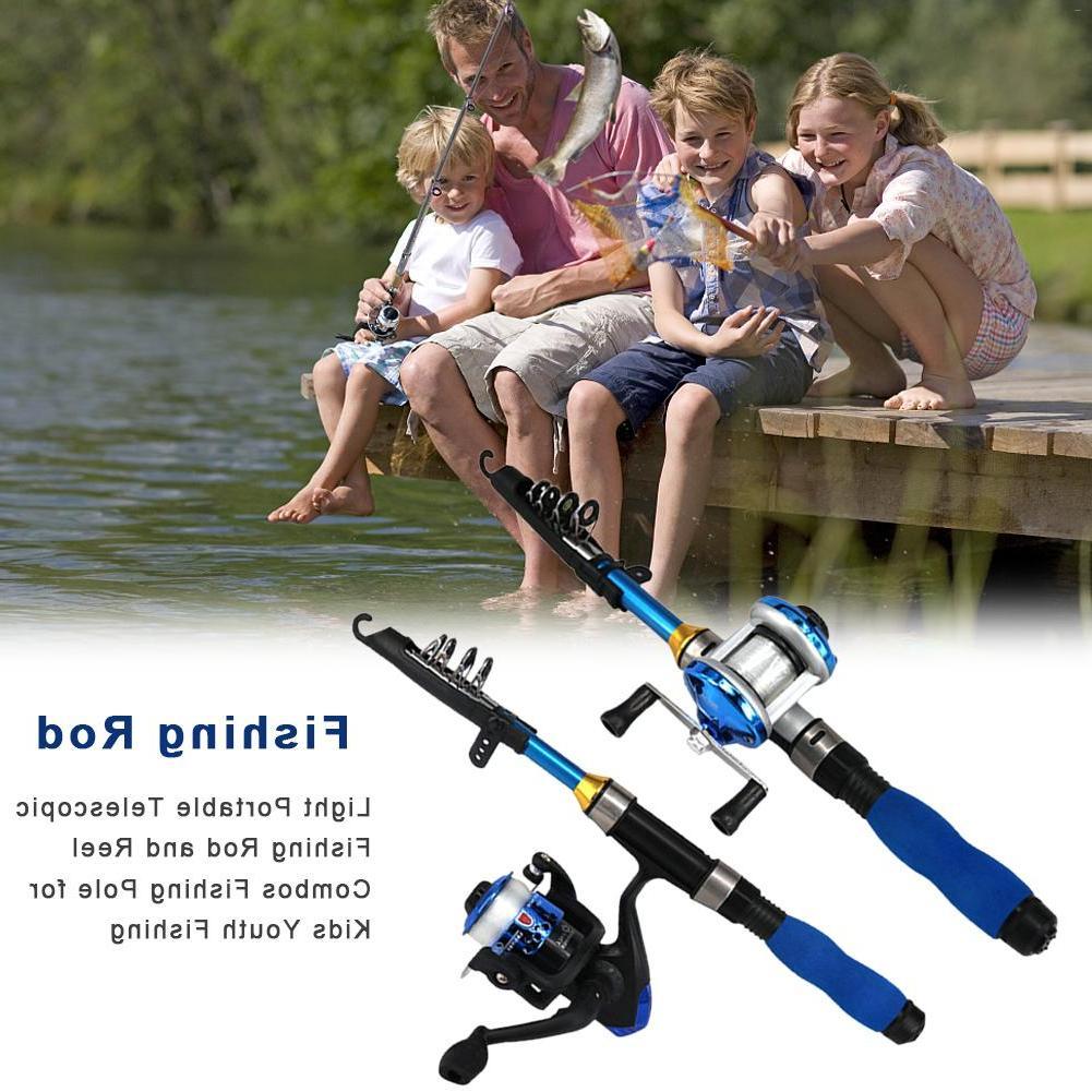 Light Portable Telescopic <font><b>Fishing</b></font> <font><b>Rod</b></font> And <font><b>Fishing</b></font> <font><b>Youth</b></font>