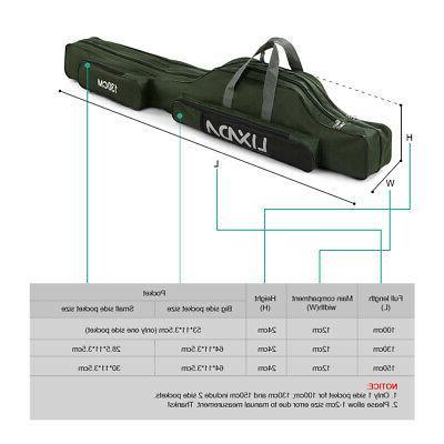 100cm 130cm 150cm fishing bag portable folding