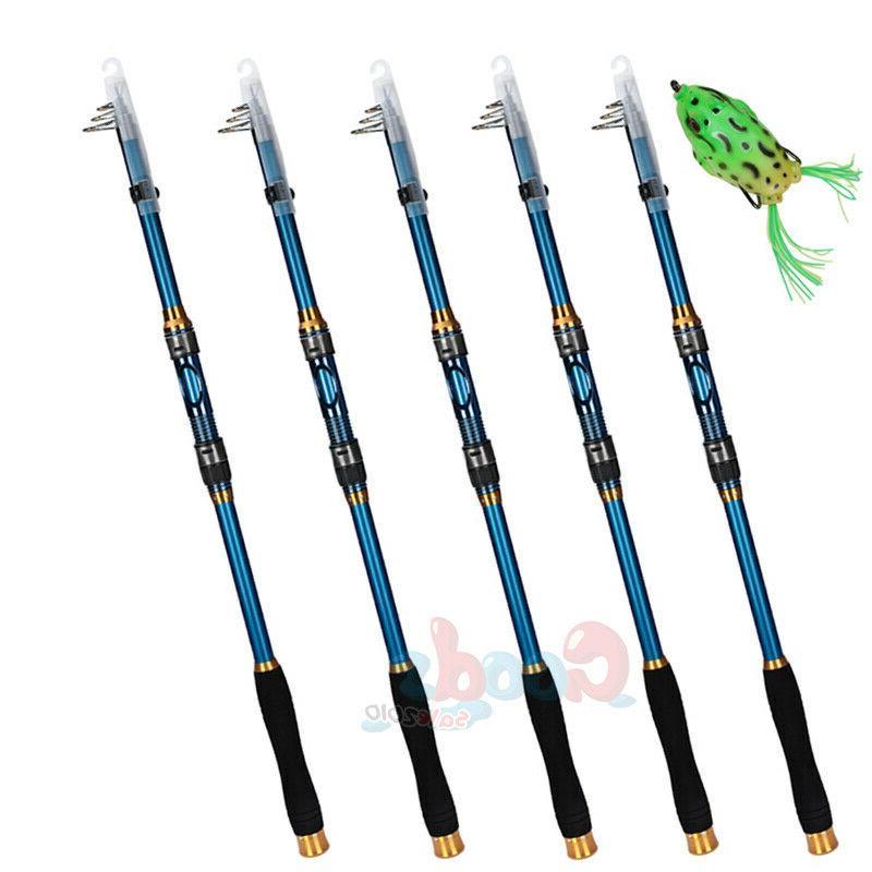 lots carbon fiber ultralight telescopic fishing rod