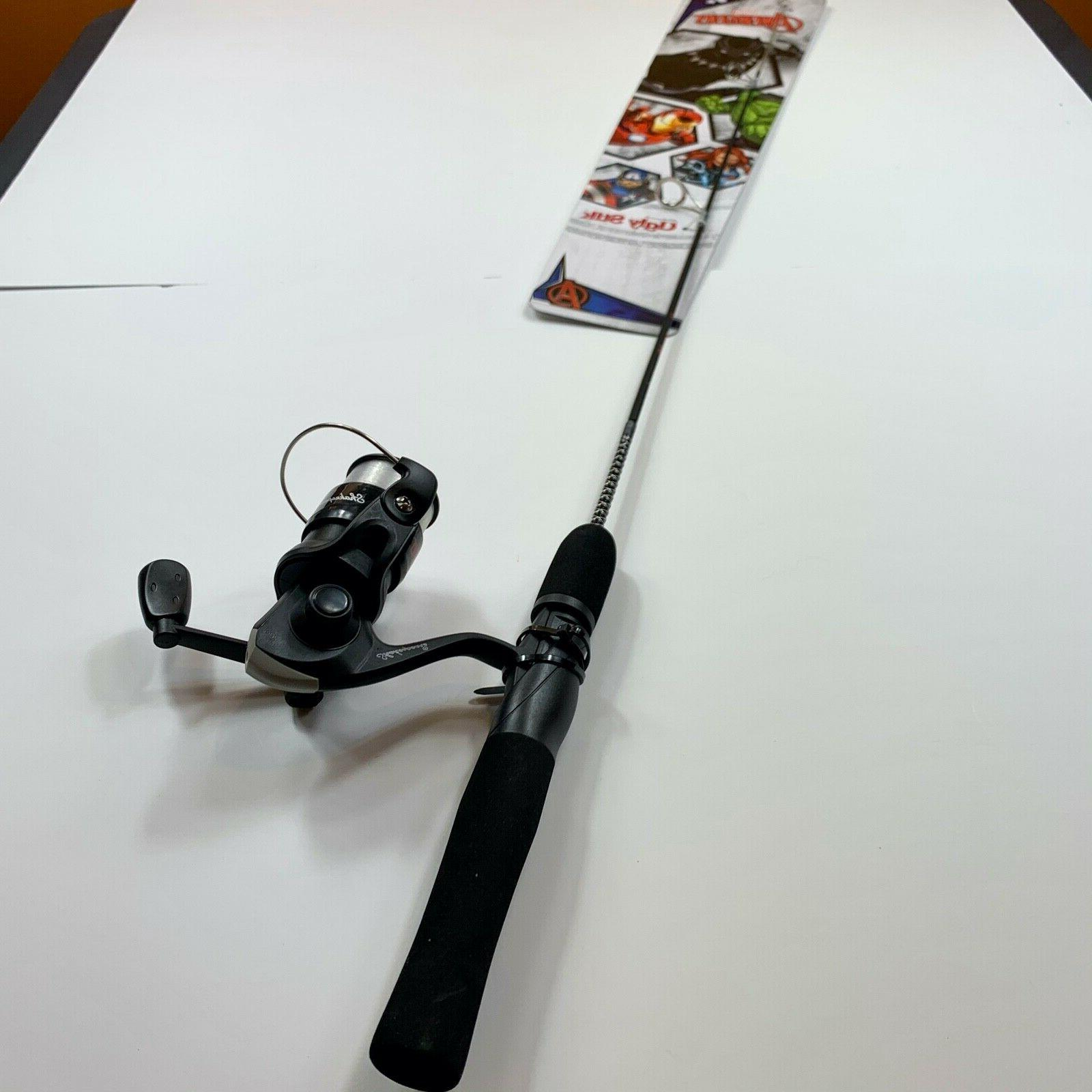 Marvel Avengers Ugly Stik Fishing & Reel