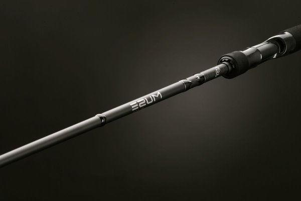 13 Fishing MBC74H Muse Black Casting Rod - 7 ft. 4 in.