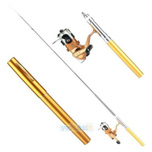 Mini Shape Pole+Reel+Fishing Kits