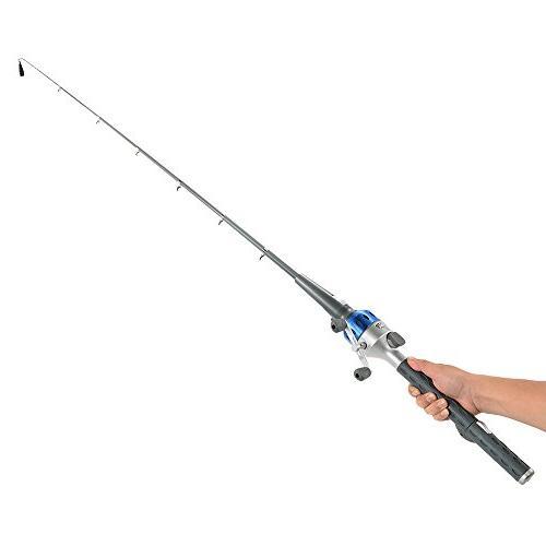 mini folding fishing rod foldable
