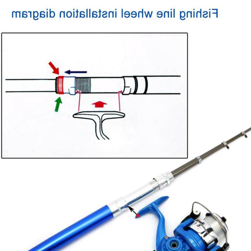 Fish Pen Fishing Rod Portable Pen Fishing Pole
