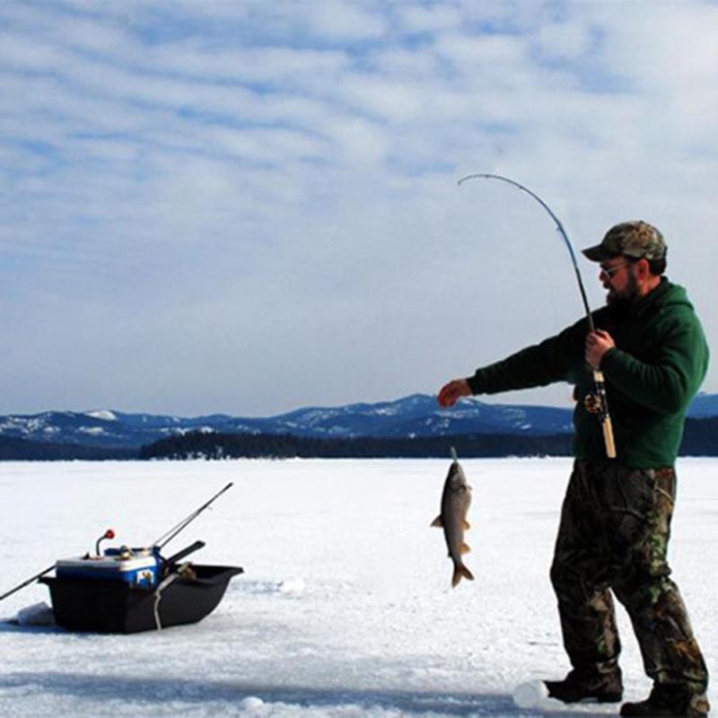 Mini Shape Fish Pole Reel Fishing Line