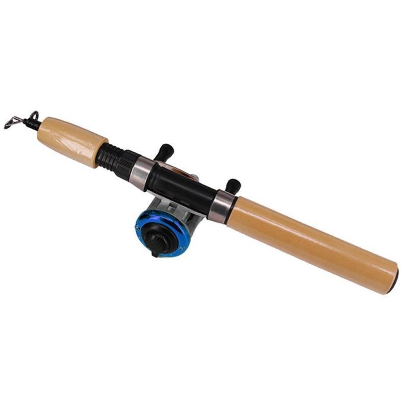 Mini Portable Shape Pole Reel Fishing Line