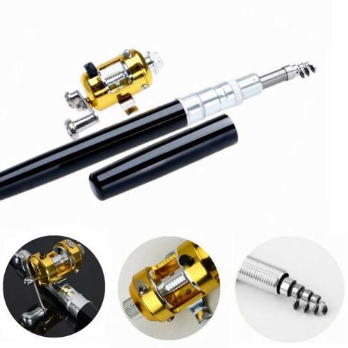 New Pocket Pen Shape Fishing Rod Reel