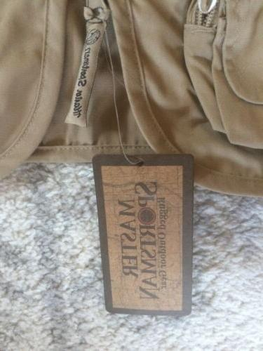 NWT Sportsman Fishing Vest Khaki XL X-Large