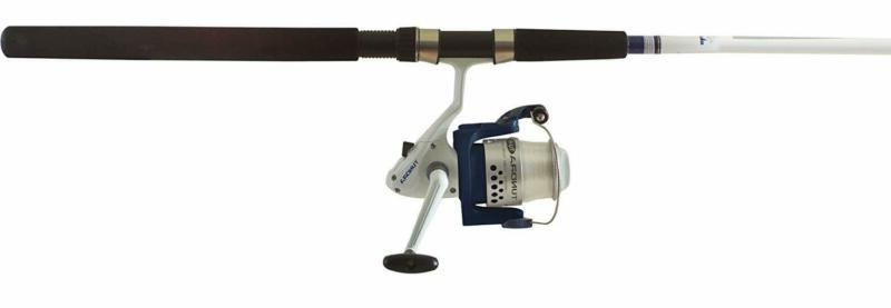 Fishing Rod And Reel Combo Okuma Tundra 10' Spinning Saltwat