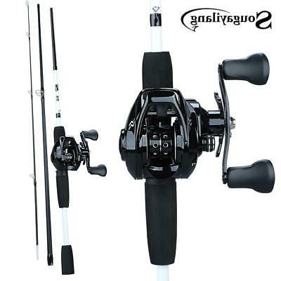 portable 3 section 1 75m fishing rod