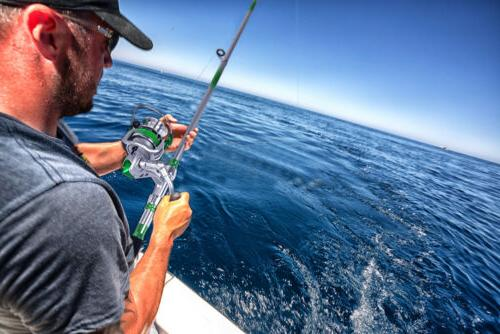 Portable Fiber Ultralight Travel Fishing Rod Sea