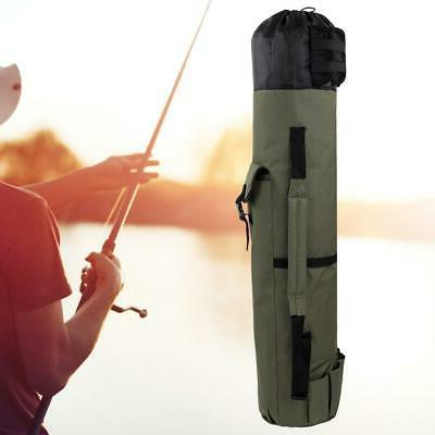 Portable Fishing Rod Pole Carrier Tool Box Case