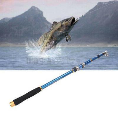 2.1M Fishing Ultralight Carbon Fiber Sea Spinning Pole