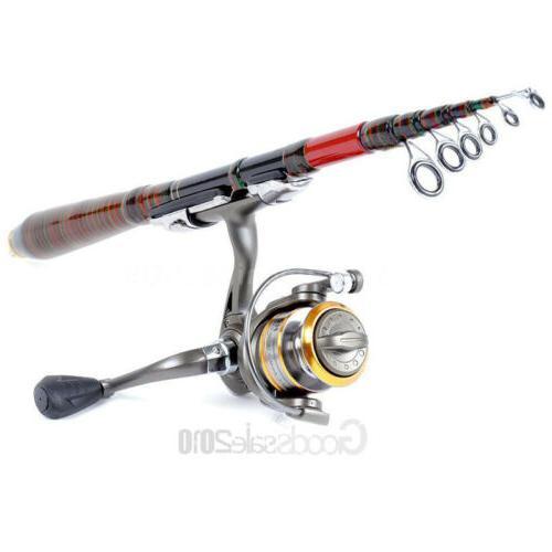 professional carbon fiber telescopic fishing rod travel