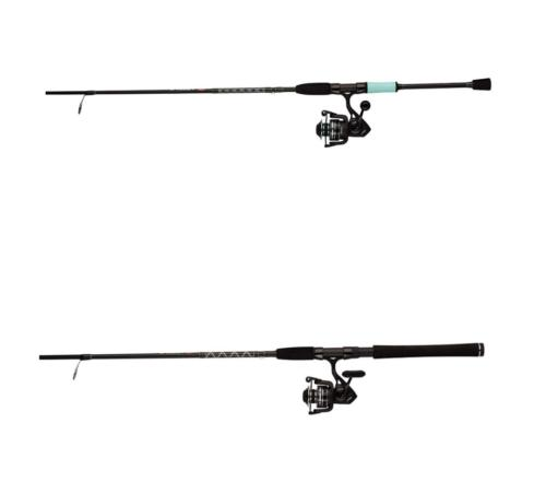 pursuit iii spinning fishing reel and rod