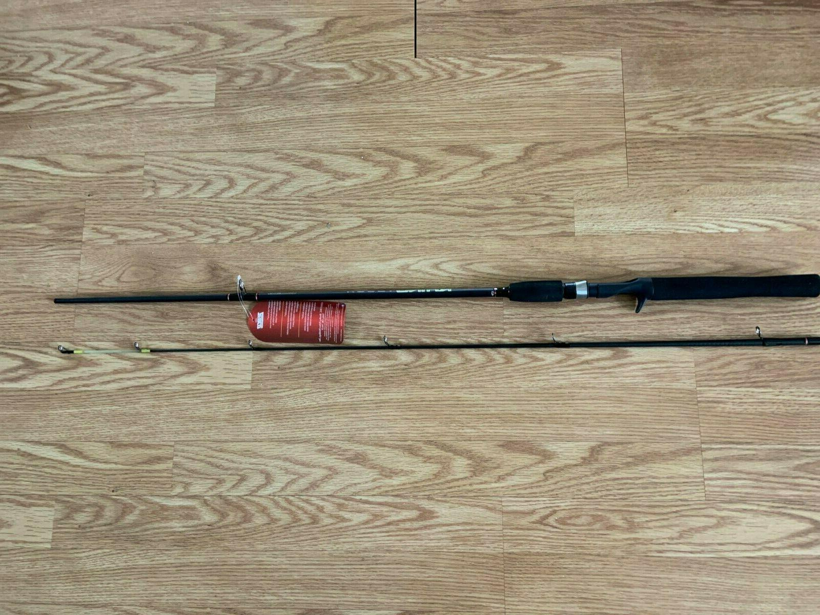 rhino rngc602mc casting rod 6 2pc w