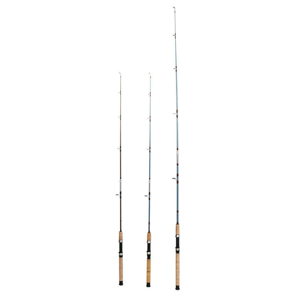 saltwater fishing rod fiberglass 10 30lb boat