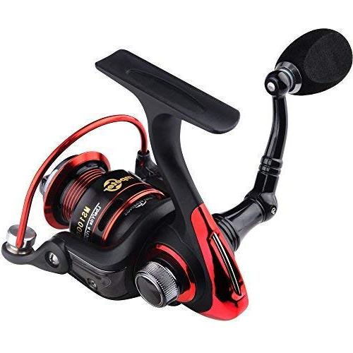 mpeter Sentinel Fishing Reel - Smooth - 40 Ball 5.2:1 Gear Ratio, for Freshwater Fishing