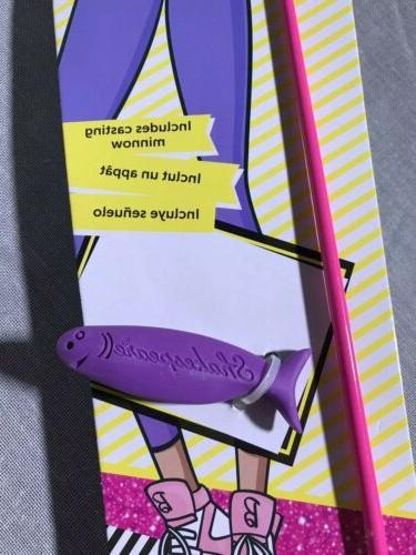 Shakespeare Youth Barbie Fishing Rod/Pole Reel Kit