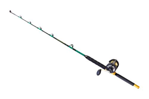 solid roller fishing rod and reel combo