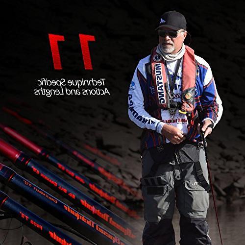 KastKing Demon Fishing Rod & Models 11 Specific - Fuji Guides Reel 16 High Modulus 1 Pcs Carbon Blanks