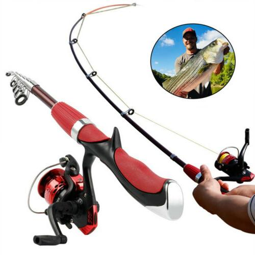 Spinning and Reel Carbon Ultra Light Fishing Pole Tool CN