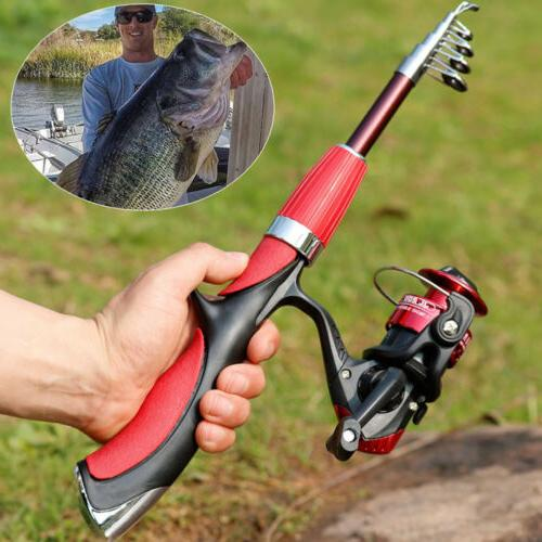 spinning fishing rod and reel set carbon